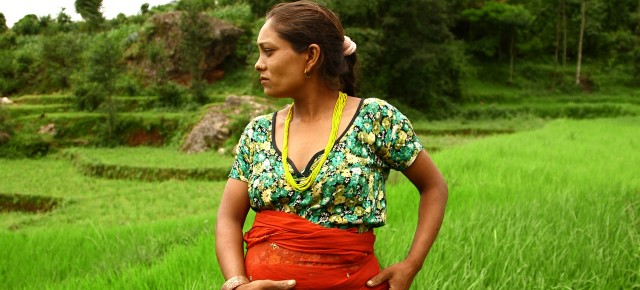 Seven months pregnant and working in the fields, BBC/PRI's The World